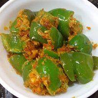 Besan Wali Shimla Mirch|Rajasthani capsicum besan ki sabji