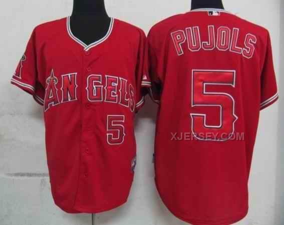 http://www.xjersey.com/angels-5-pujols-red-jerseys.html ANGELS 5 PUJOLS RED JERSEYS Only $34.00 , Free Shipping!
