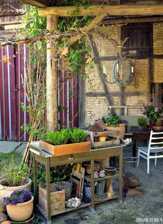 Hof 9 Ein Gartenblog In Dem Ein Fachwerkhof Saniert Wird In Dem Es Ab Und An Ein Gutes Rezept Gibt Und Jede Menge Diy Garten Haus Und Garten Garten Deko