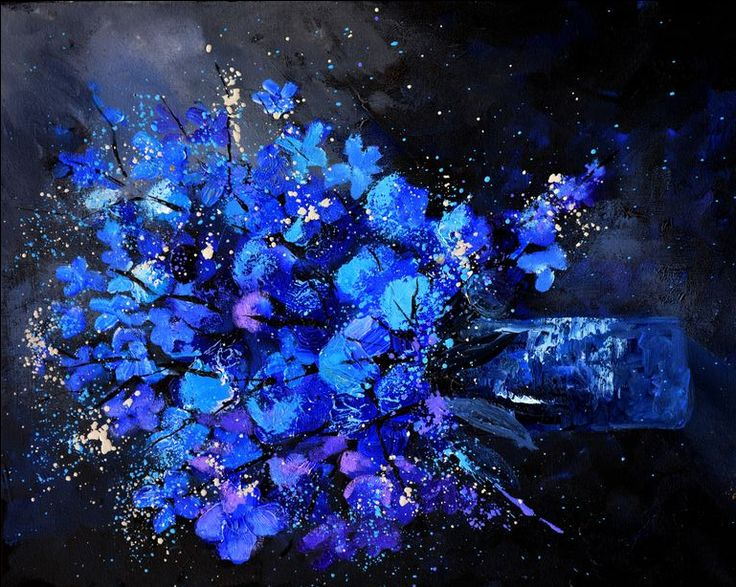 Blue still life 4561