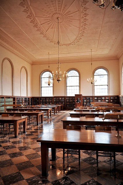 Wilson Library Reading Room at UNC Chapel Hill