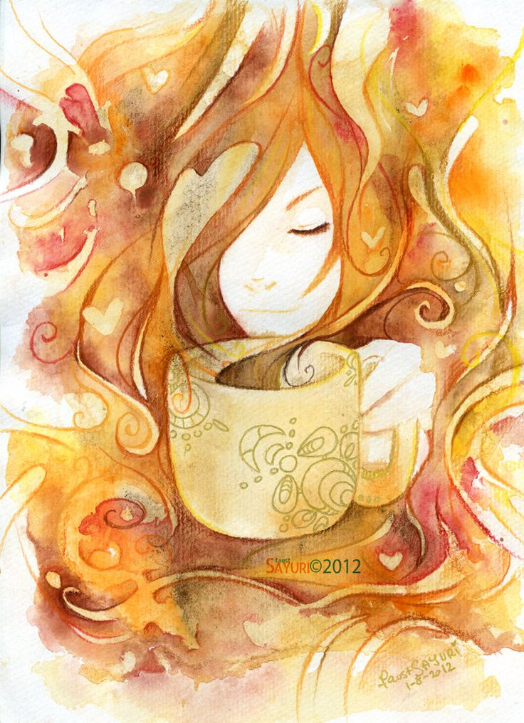 coffee by ~faust-sayuri on deviantART
