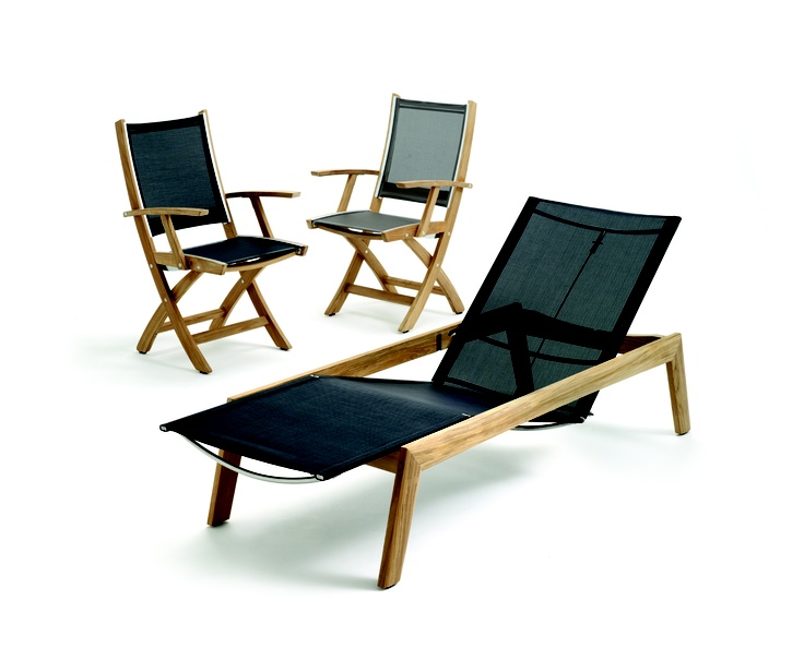 Solana joined the Gloster collection of loungers in 2013.  A beautiful and timeless design with an emphasis on comfort. www.marlanteak.com