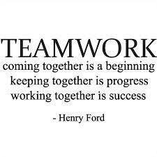 Teamwork/Sisterhood