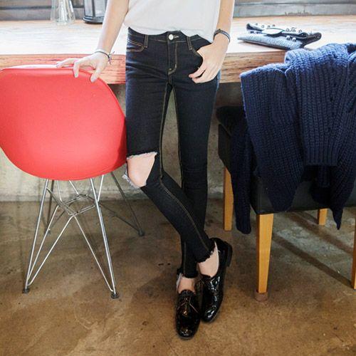 Womens Clothing Store [VANILLAMINT] no.520 Jeans / Size : 25-30 / Price : 37.25 USD #dailyllook #dailyfashion #fashionitem #bottom #pants #jeans #skinnyjeans #ootd #vanillamint http://en.vanillamint.net/