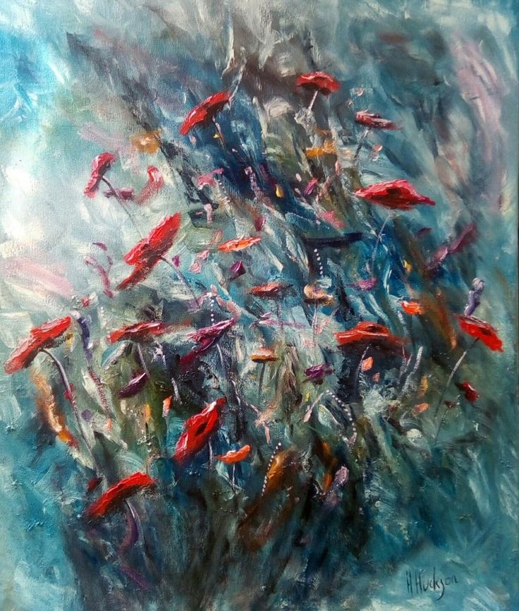 """Original Hand Painted Oil Painting Direct from the artist studio. Worldwide Selling Artist: Hayley Huckson Title: Wild wild flowers Medium: Double primed canvas / Artist Quality oil paints Size: 24""""x20"""" Date: August 2017 Frame: NO frame supplied Shipping: Royal Mail - painting will be shipped rolled in a tube. Certificate: Signed and dated on the day of purchase Payment: Paypal or pick ..."""