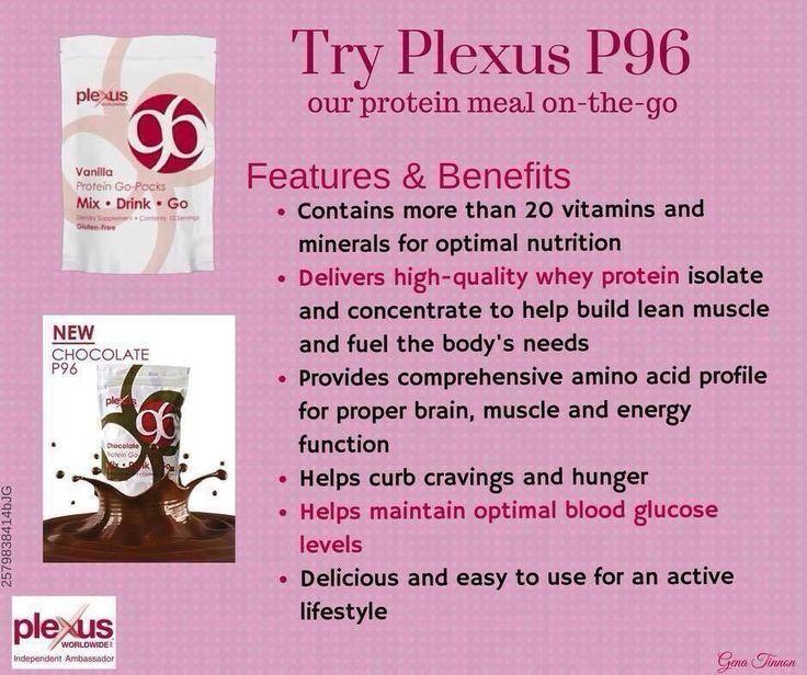Plexus Chocolate Protein Go Pack Nutrition