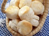 Cooking Channel serves up this Senator Hollings' Flaky Appetizer Cream Cheese Biscuits (Carolina Biscuits) recipe plus many other recipes at CookingChannelTV.com