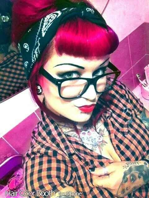 Rockabilly girl