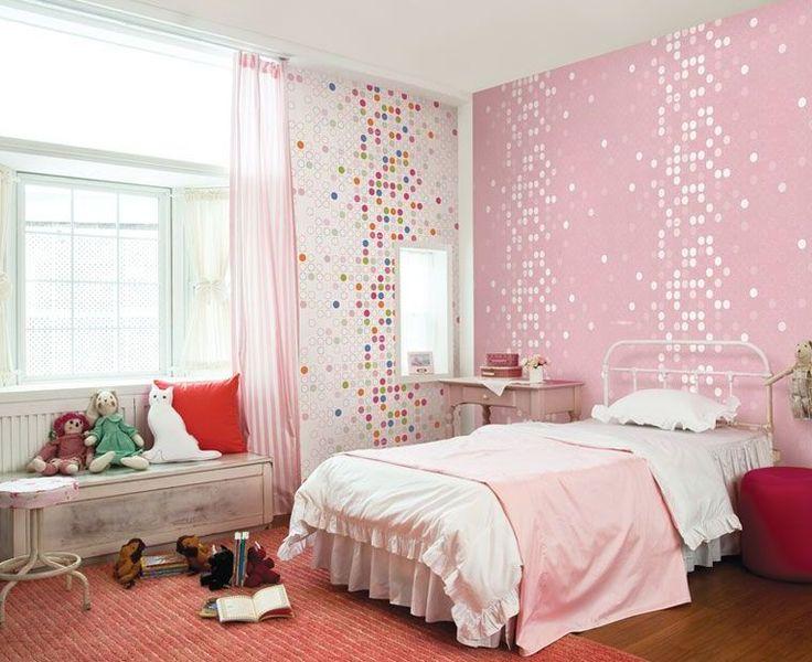 Cute Girls Bedroom best 25+ wallpaper for girls room ideas on pinterest | little