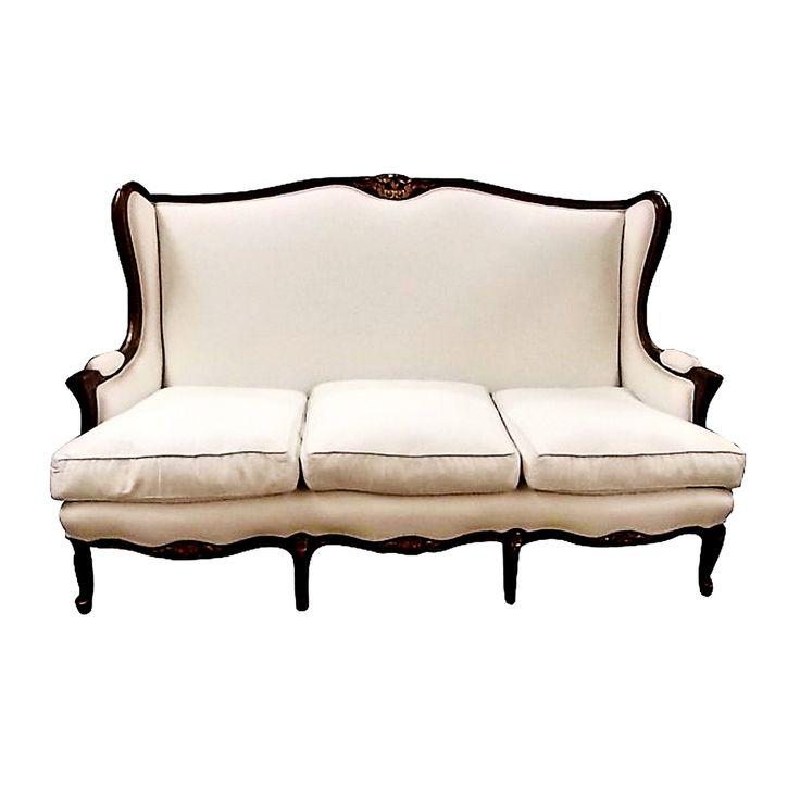 French louis xv style sofa antique vintage sofas pinterest french style and sofas - Louis xiv sofa ...