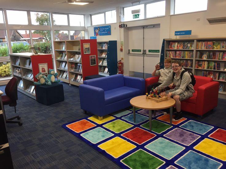 Bishops Cleeve Library refurbished 2016
