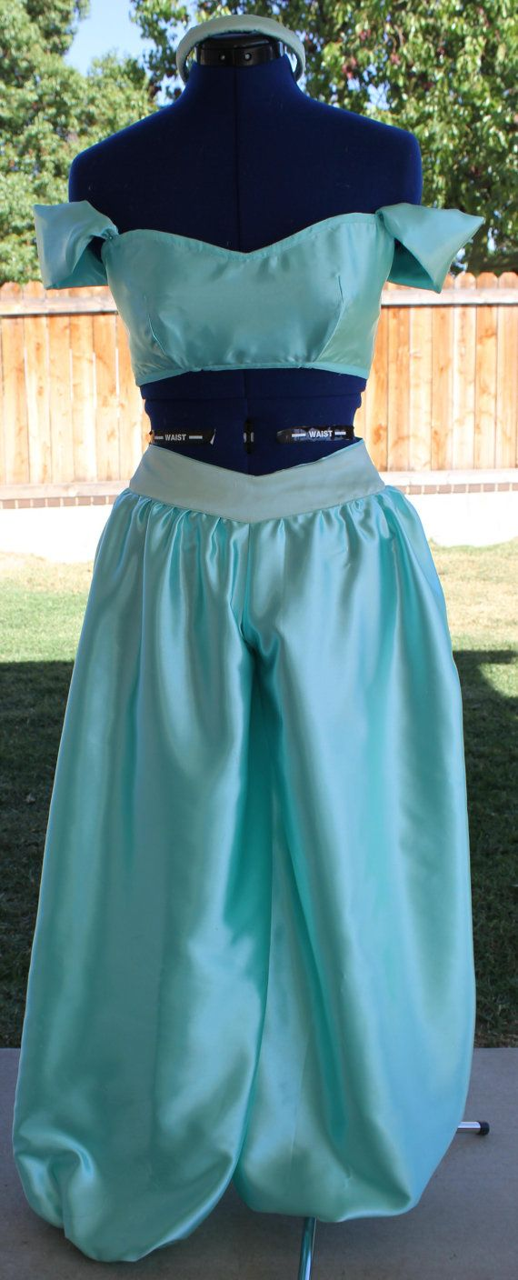 Arabian Costume Inspired by Jasmine by CaitsBoutique on Etsy, $180.00