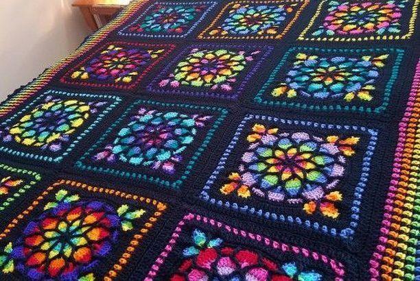Modern blanket pattern easy crochet blanket tutorial throw | etsy.