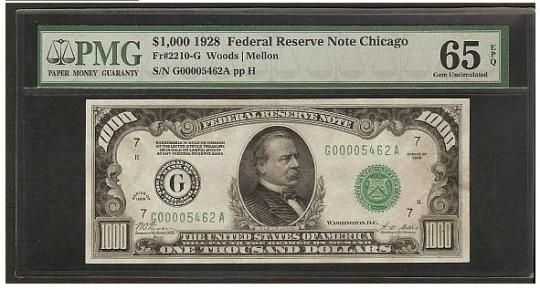 $500 to $1,000 to $10,000 and Beyond: The Biggest Dollar Bills in United States History   PurpleSlinky