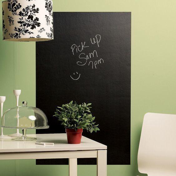 貼るだけでおしゃれな部屋に♪黒板シートのDIYアイディア集 | 4yuuu! (フォーユー) 主婦・ママ向けメディア