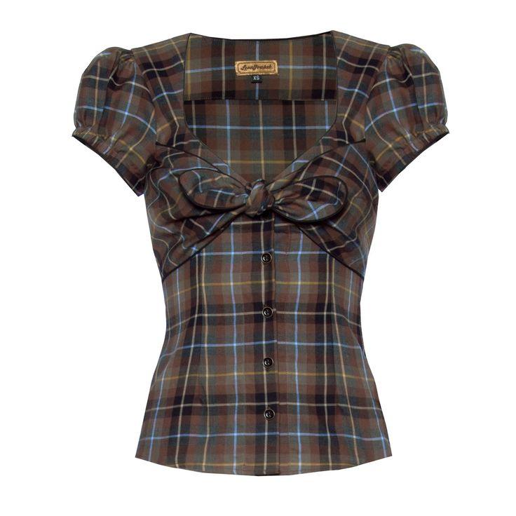 Sweetheart Blouse scots - Outlet - Online Shop  - Lena Hoschek Online Shop