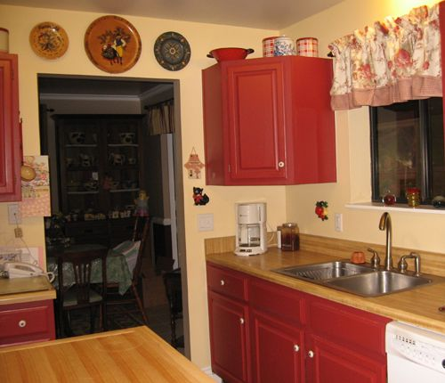 Red Country Kitchen Designs Decorating Ideas Hgtv Rate