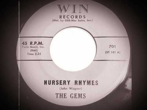 The Gems - Nursery Rhymes (1958)
