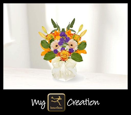 I've created this using My Interflora Creation – what will you create?