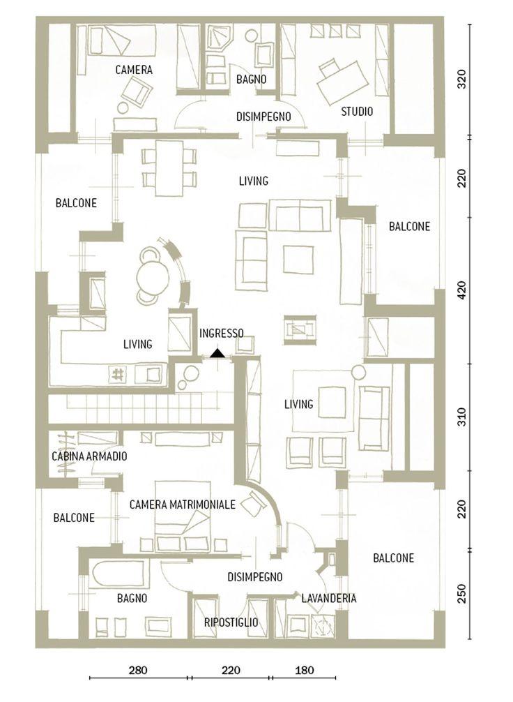 Oltre 25 fantastiche idee su planimetrie di case su for 2 piani garage baia