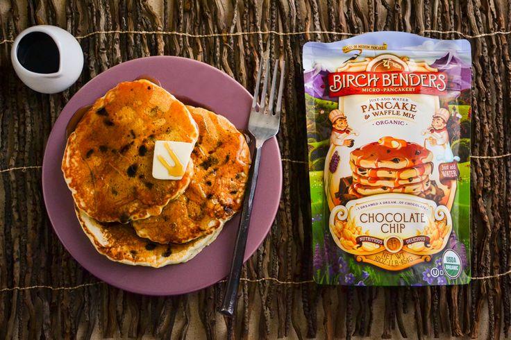 《秋冬限定フレーバー》入れるのは水だけ、手軽なのに美味しく体に優しいパンケーキ|CHOCOLATE CHIP(チョコレートチップ)パンケーキミックス | MONOCO