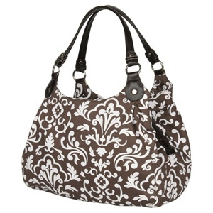 My favorite new purse: Thirty-One's 5th Avenue in Brown Parisian Pop!