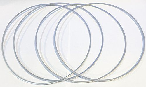 Ceco 30A11U0830X08 LP Valve Seat Gasket Kit for Ingersoll Rand Air Compressor, 4 #Ceco