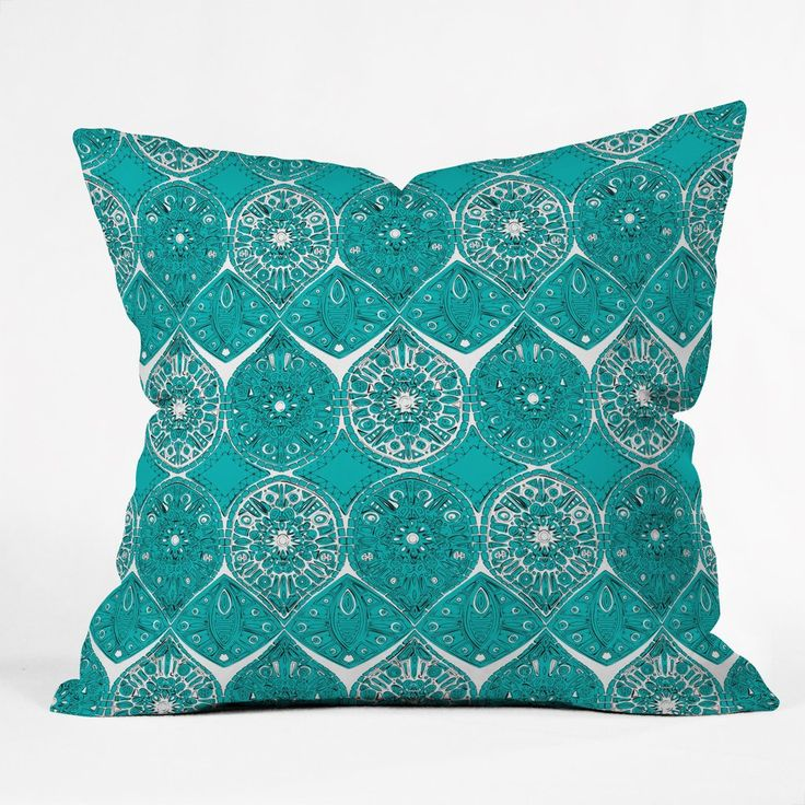 Decorative Pillows In Turquoise : Best 25+ Turquoise throw pillows ideas on Pinterest Bird pillow, Teal bird and Throw pillow covers