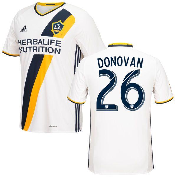 Landon Donovan LA Galaxy adidas 2016/17 Primary Replica Jersey - White - $114.99