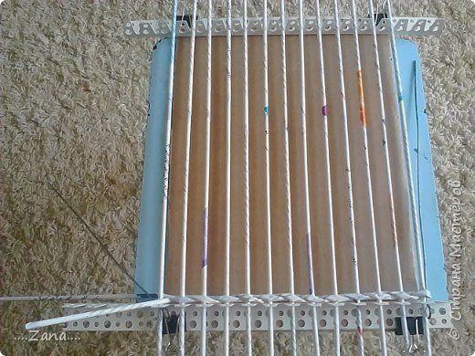 szögletes alap Поделка изделие Плетение короб для картошки Трубочки бумажные фото 2