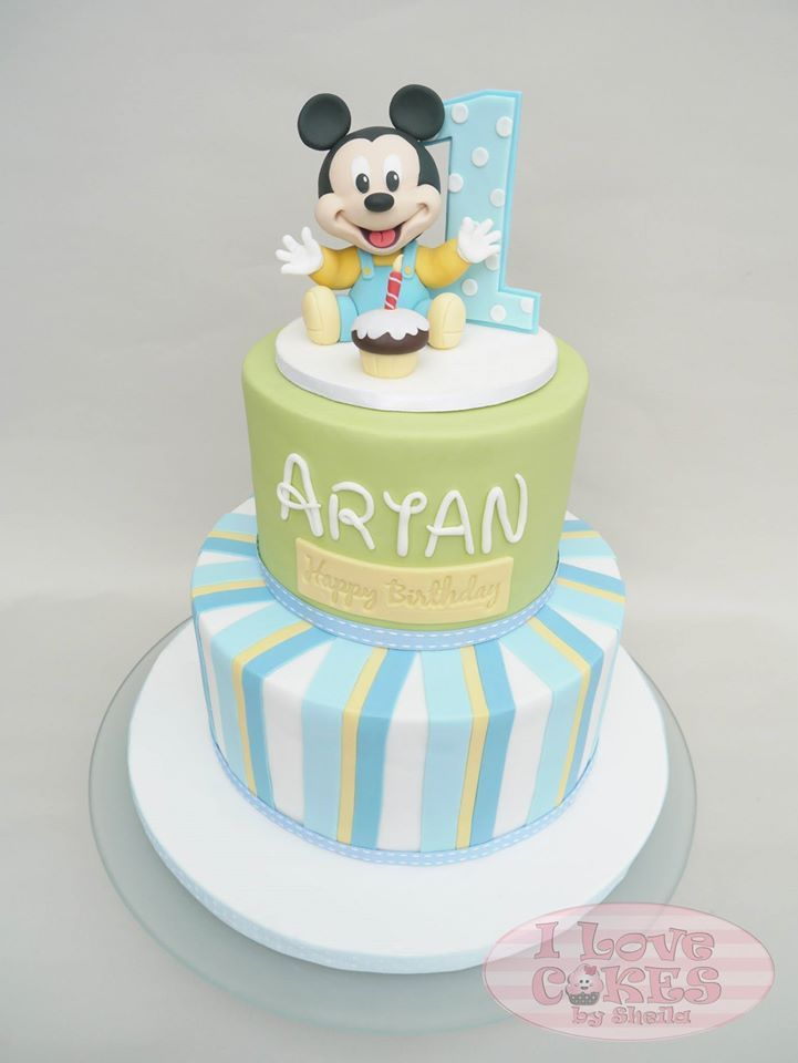 Baby shower cake....I Love Cakes by Sheila