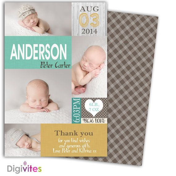 The 25 best Boy birth announcements ideas – Baby Boy Announcements Ideas