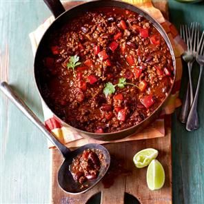 Classic chilli con carne Recipe | delicious. Magazine free recipes - best recipe I have found for chilli, so tasty!!