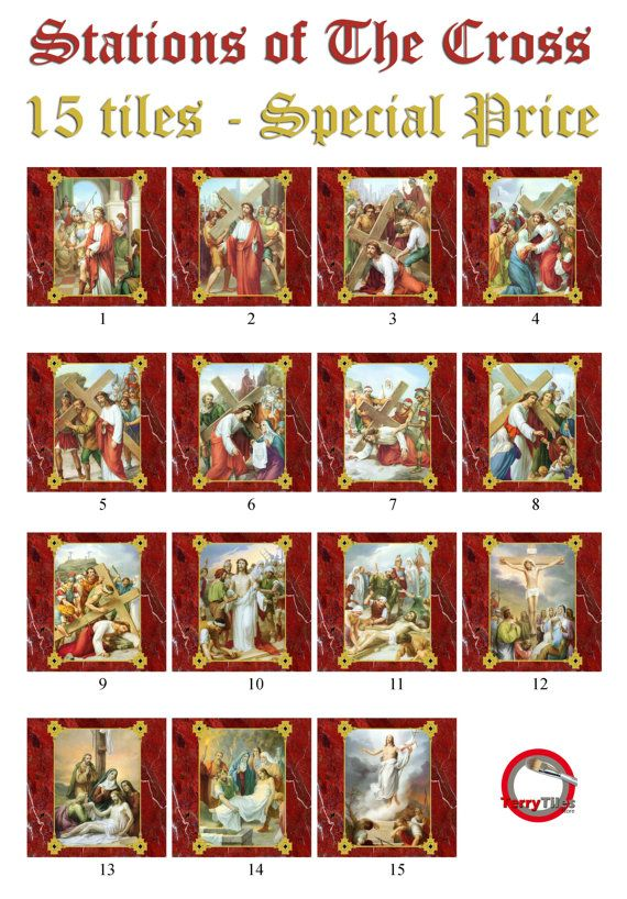 Best 25 catholic gifts ideas on pinterest decades of the rosary unique religious gift idea 15 high quality collectible tiles handmade in italy stations of the negle Choice Image