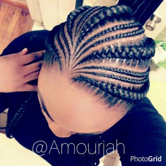 Outstanding 50+ Best Cornrow Hairstyles https://www.fashiotopia.com/2017/06/19/50-best-cornrow-hairstyles/ Cornrow hairstyles are a conventional manner of braiding the hair near the scalp. It is also possible to choose and produce your own innovative hairstyles. Long single braid hairstyles are created on hair a little beneath the shoulder. #CornrowsHairstyles #haircarebunch, #blackhairstylescornrows