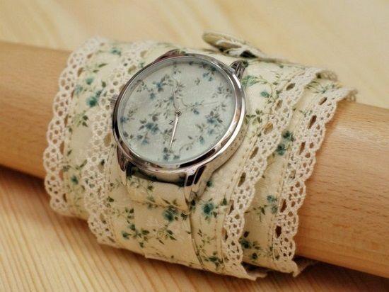 Ремешок для часов своими руками: простые идеи для лета   Dolio.ru
