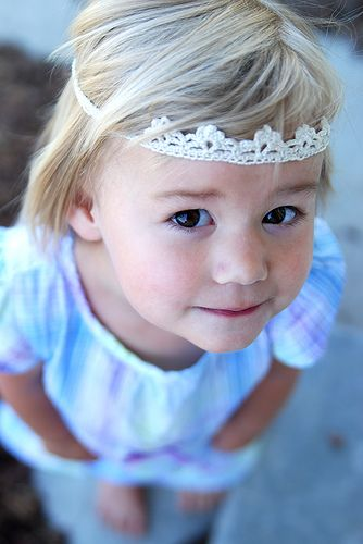 crochet crown, must make w/ our daisy chain yarn!