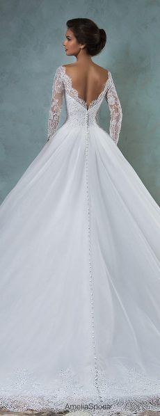 962 best Wedding Dresses images on Pinterest | Wedding frocks ...
