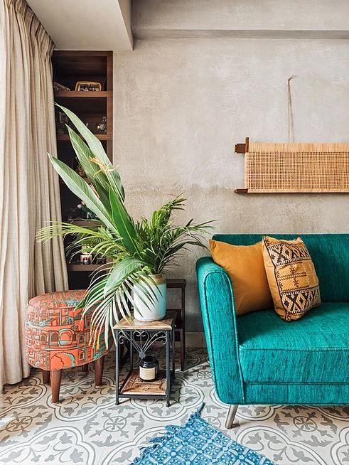 the thakurs colorful home is an ode to rich fabrics and patterned rh pinterest com