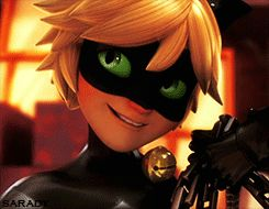 Ladybug: Chat Noir might annoy me to pieces but he's never lied to me. Chat Noir: Thanks for the compliment. I think! lol