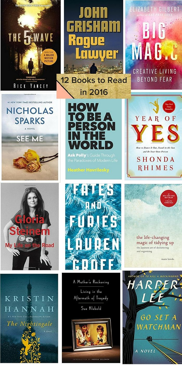12 Best Books to Read in 2016