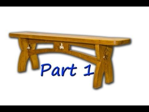 Project: Gothic Bench - Part 1 of 3 - YouTube