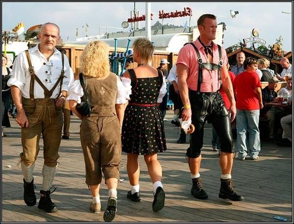 Национальный костюм турист прздники