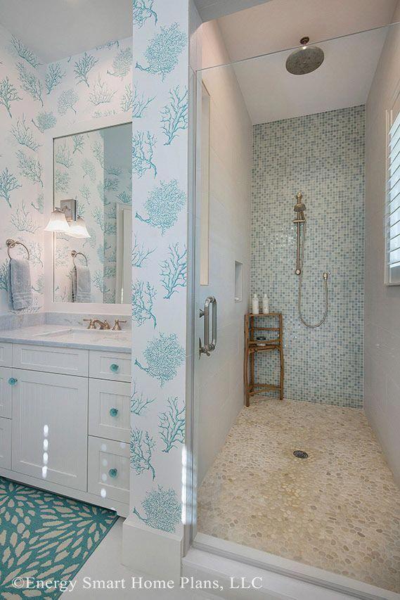 Dream Beach Houses Beachhouses In 2020 Beach House Bathroom Beach House Plan House Bathroom