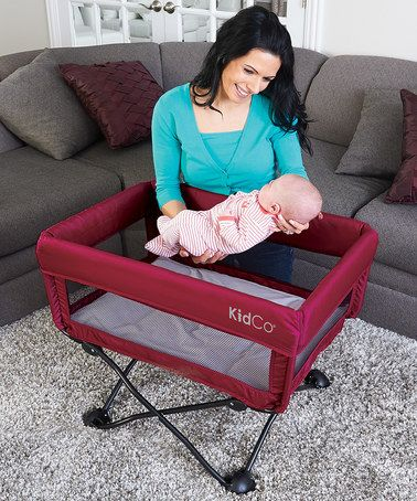 Look at this #zulilyfind! Cranberry DreamPod Travel Bassinet by KidCo #zulilyfinds