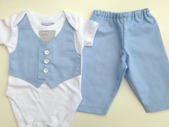 Baby boy outfit, baby boy clothing, newborn boy baby blue, smart spring summer wedding outfit for baby, pale blue baby suit uk