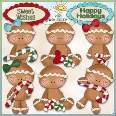 christmas gingers digital art | Christmas Village: Santa's Workshop 2 - NE KWD Clip Art : Digi Web ...