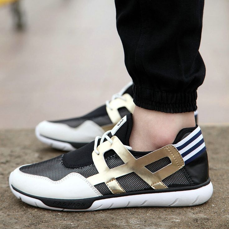 Summer Designer Running Sports Shoes Men Casual Sneaker Patchwork  Espadrilles For Male Size 39 to 44
