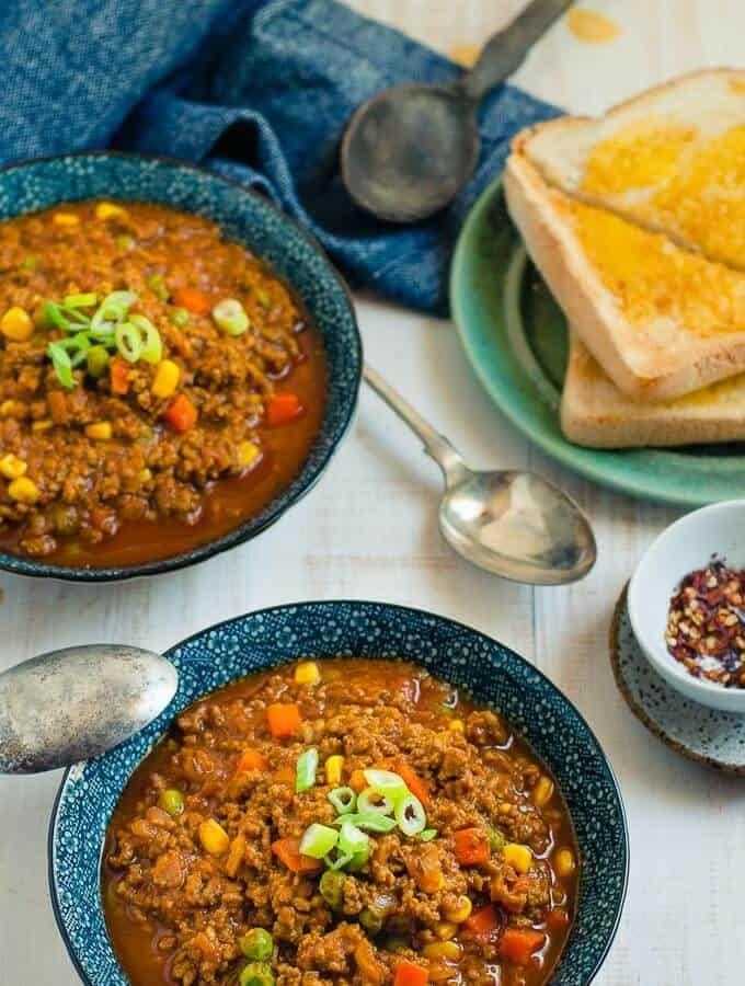 Savoury Mince Curry Recipe Minced Beef Recipes Savoury Mince